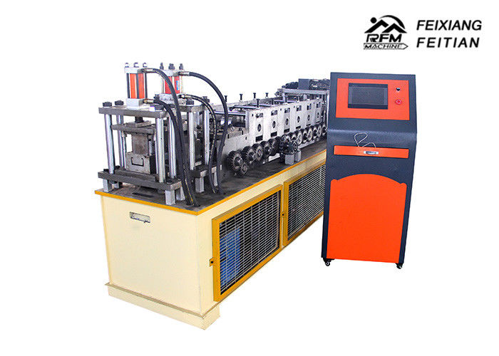 High Precision Light Steel Keel Roll Forming Machine 3 - 8 m/Min Speed With Punching