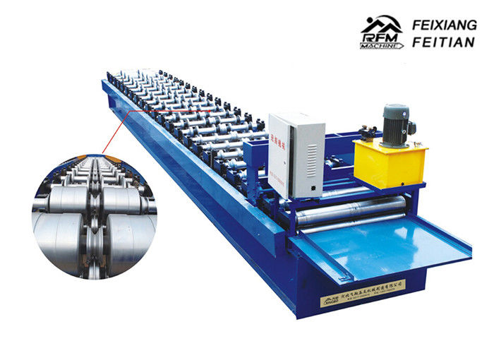 JCH Joint Hidden Roofing Sheet Making Machine , Wall Panel Roll Forming Machine