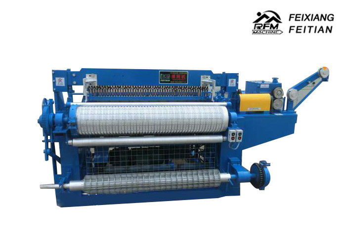 Automatic Wire Mesh Roll Welding Machine , Stainless Steel Wire Mesh Making Machine