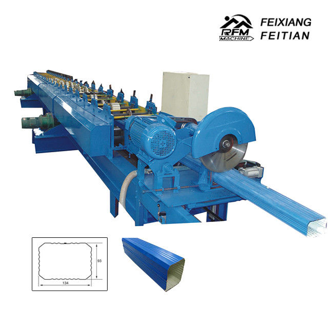 Rectangular Downspout Roll Forming Machine Easy Operation For Construction