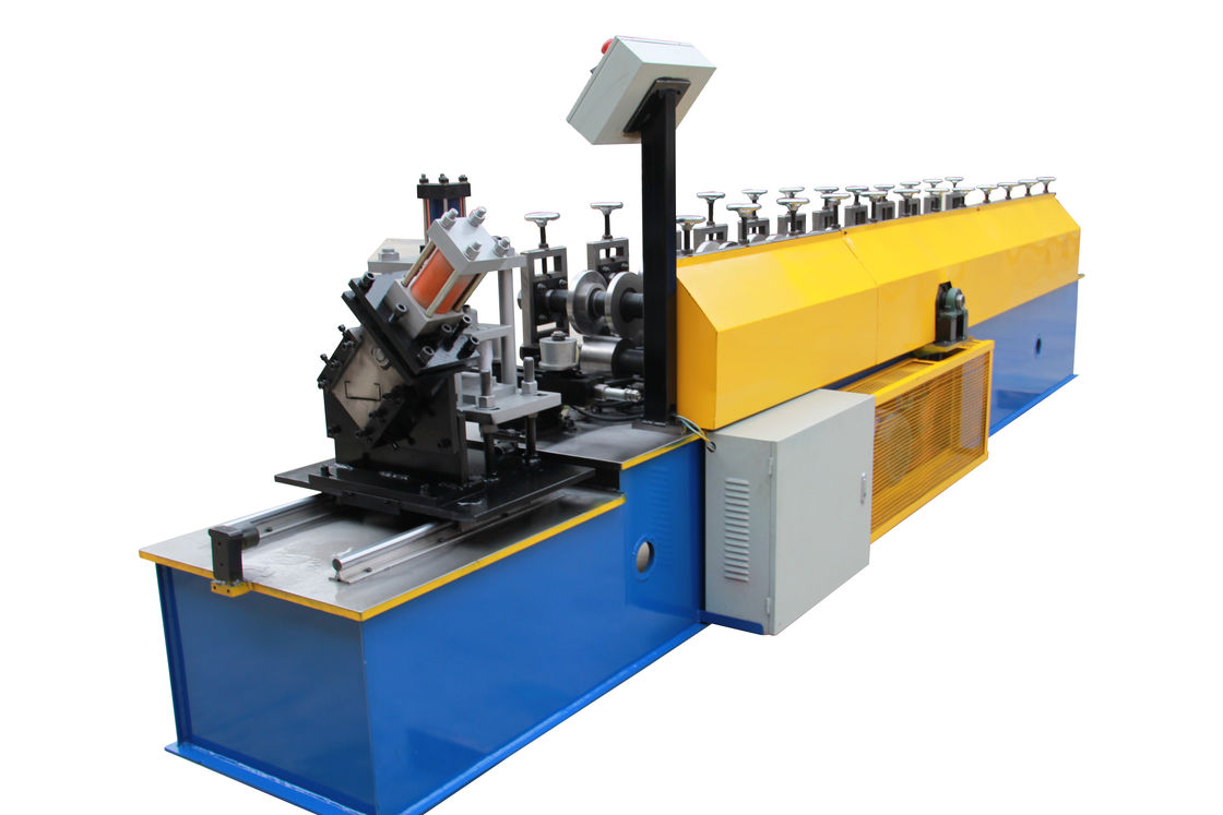 Metal Drywall Stud Roll Forming Machine With Safety Cover For Ceiling