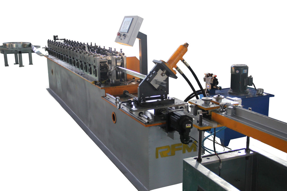 Full Automatic Metal Stud And Track Roll Forming Machine Delta PLC Control